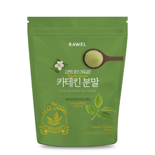 로엘 녹차카테킨 분말 Rawel Catechin Green Tea Powder | 300g