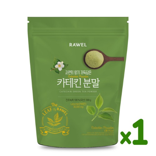 로엘 녹차카테킨 분말 1개 Rawel Catechin Green Tea Powder | 300g