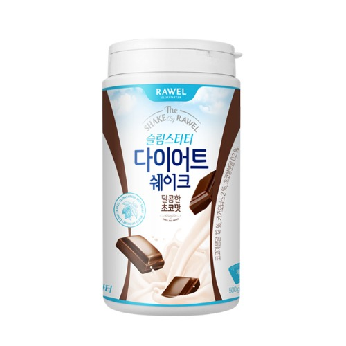 로엘 슬림스타터 다이어트 쉐이크 초코맛 500g 모음전 | RAWEL Slim Starter Diet Shake Chocolate Flavor 500g Select Options