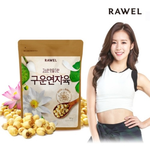 로엘 구운 연자육 300g 모음전 | RAWEL Grilled Lotus Seed 300g Select Options